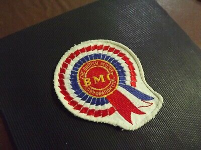 """BRITISH MOTOR CORPORATION DIGITALLY CUT OUT VINYL STICKER 3.5/"""" OVERALL SIZE"""