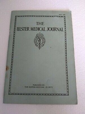 The Ulster Medical Journal July 1933
