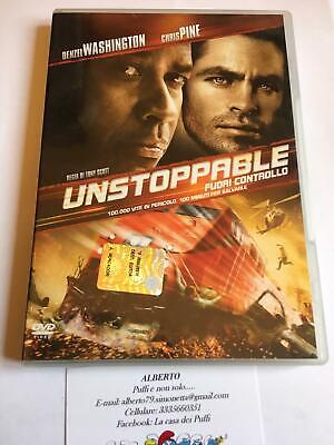 Unstoppable dvd editoriale