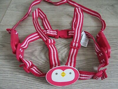 Mothercare Baby Toddler Girl Safety Harness Walking Reins - Pink - Never Used