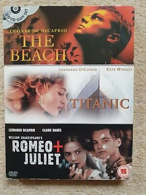 Titanic / The Beach / Romeo and Juliet DVD (2003) Leonardo DiCaprio
