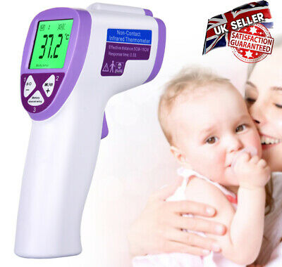 IR Infrared Digital Termometer Non-Contact Forehead Baby /Adult Body Thermometer