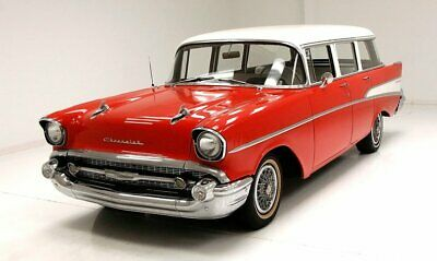 1957 Chevrolet 210 Station Wagon traight Line Steel Restored Interior Inline 6-Cylinder 3-Speed Manual