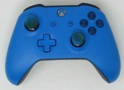 Genuine - Microsoft Xbox One - S Wireless Bluetooth Controller - Blue - UDAC