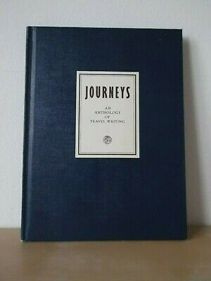 JOURNEYS An Anthology of Travel Writing - British Airways 1st Edition 1981 HB
