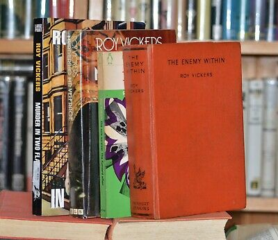 A good read, four books by Roy Vickers (one 1st edition)