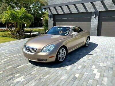 2003 Lexus SC Convertible 2003 Lexus SC 430 Convertible 33,999 Miles Egyptian Sand Pearl TIMING BELT WAS