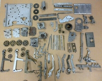 BOX LOT of Antique Mills Slot Machine Parts
