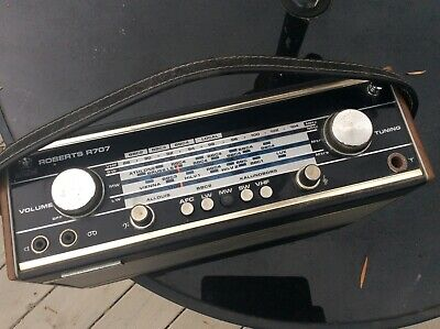 Radio Roberts R707 Vintage FM AM Receiver tested excellent working order classic