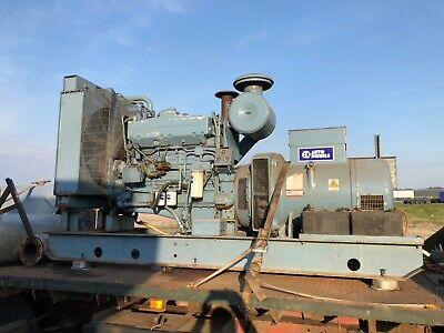 320 KVA Generator Cummins NTTA-855 Big Cam Twin Turbo Only 172 Standy By Hours