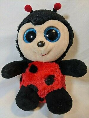 Izzy Plush Red and Black Laddy Bug TY