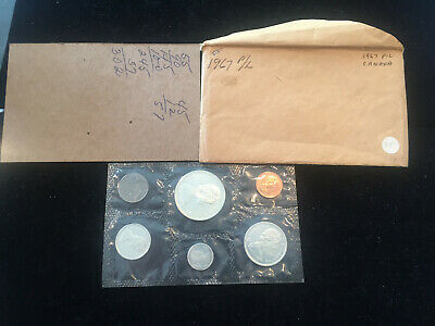 Canada 1967 Silver Proof-Like Mint Set of Uncirculated Coin Set