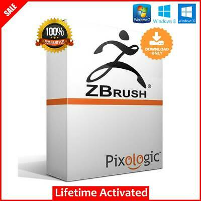 Pixologic ZBrush 2020✅Full Version✅Lifetime Activated✅For Windows✅Fast Delivery