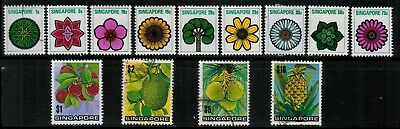 Singapore #144-149 Complete Set 1971 MH