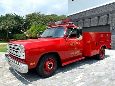 1991 Dodge D350 Reg. Cab 8-ft. Bed 2WD 1991 Dodge D350 8-ft. Bed 2WD 21,900 k  5.9L WAS IN EMERGENCY TV SHOW