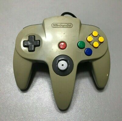 Nintendo 64 N64 OEM Official Authentic Controller - Grey  - Loose Stick - #003
