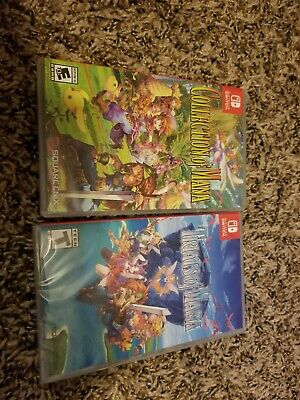 Nintendo Switch trials of mana, collection of mana