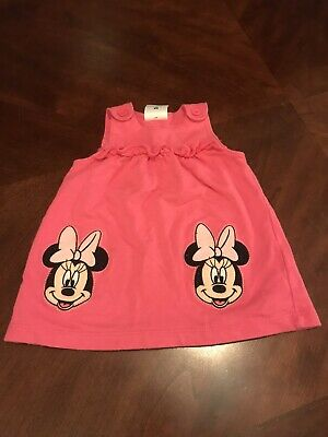 Disney Baby Pink Minnie Mouse Dress Size 6-9 Months