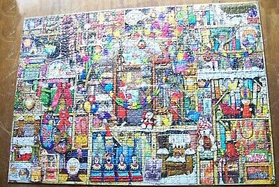 Ravensburger Puzzle - Weihnachtsregal - 1000 Teile - Limited Edition (534)