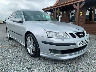 2006 Saab 9 3 2.8T Aero 5dr Auto ESTATE V6 TURBO RARE CAR FULL LEATHER AIR CON 3