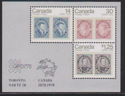 1978 SC# 756a Capex 78 Toronto Souvenir Sheet Lot # 1 M-NH