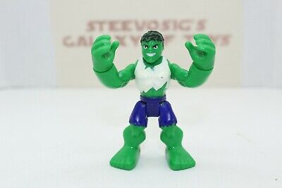 4x Playskool Marvel Super Hero WOLVERINE Hulk Captain America figure hasbro toy