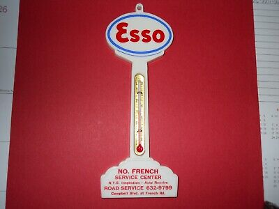 Esso Pole Thermometer.n.y.s.inspection.