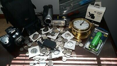 Junk Drawer Lot  Coins, Cameras, & More!