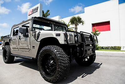 2003 HUMMER H1 Open Top 2003 H1 OPEN TOP - CUSTOM 1 OF 1 ALMOST EVERYTHING - PREDATOR - AIR RIDE