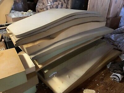 Large Lot Of THICK MULTIPURPOSE FOAM Upholstery Cushion Padding Sheet Craft