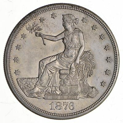 1876-S Seated Liberty Silver Trade Dollar - Choice *4101
