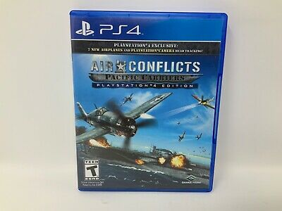 Air Conflicts: Pacific Carriers PS4 (Sony PlayStation 4, 2015)