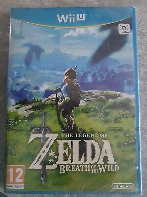 THE LEGEND OF ZELDA BREATH OF THE WILD - Jeu NINTENDO WII U Neuf