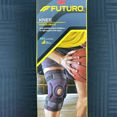 3M Futuro Firm Support Agjustable Hinged Neoprene Left Or Right Knee Brace