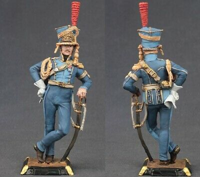 Tin toy soldiers painted 90 mm french soldier, 1812