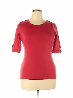 Assorted Brands Women Red Short Sleeve Top XL