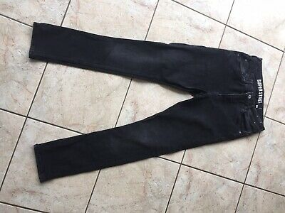 Boys Super Stretch Black Jeans Age 13/14 Years Worn Once