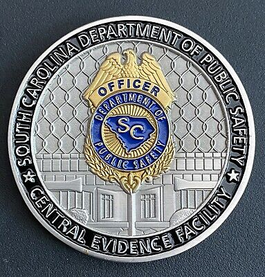 South Carolina Highway Patrol Challenge Coin Police Patch