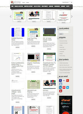 ClickBank Affiliate Store Website - Fully AutoPilot and Customizable + Free Host