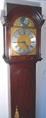 Antique Mahogany  Automation   Rocking Ship Longcase / Grandfather Clock
