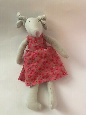 Jellycat Mouse Girl Pink Dress Floral