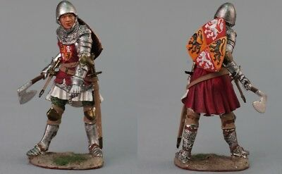 Tin toy soldiers  painted 54 mm medieval knigh