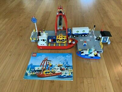 Lego 6542 - Town Launch & Load Seaport - Missing Forklift