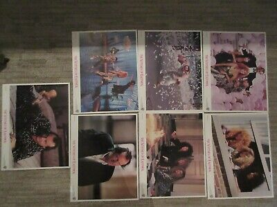 "Seven Original Vintage Warner ""The Witches Of Eastwick"" Lobby Movie Cards 1987"