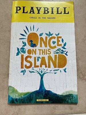 Once on this Island Playbill December 2017