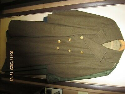 U.S. Army WWll Wool Overcoat.