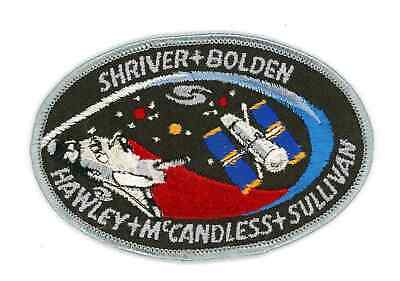 Vintage Embroidered Patch - NASA Space Shuttle - STS 131 Discovery Mission Logo