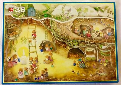 Jumbo Mouse Jigsaw Puzzle - 35 pc - very cute mouse family underground adventure