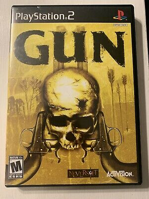 Gun PS2 Playstation 2 COMPLETE