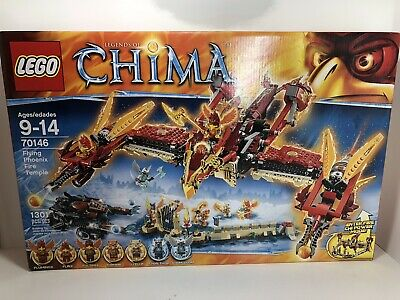 LEGO 70146  Legends of Chima Flying Phoenix Fire Temple Retired 2014